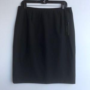 Petite Sophisticate Wool Skirt